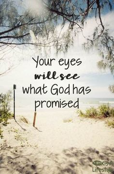 Your eyes WILL see what God has promised! facebook.com/donttakethemark