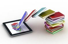 E-BOOK = a book that you can read on your tablet. It is just like a paper book, only digital.