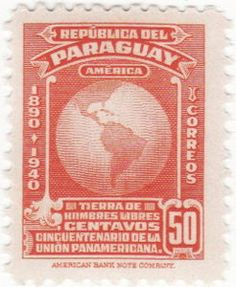 Paraguay Postage Stamp