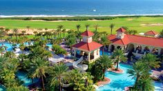 Fulfilling the request for a lazy river... Hammock Beach Resort - Palm Coast, Florida