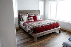 Ana White | Modern Farmhouse Bed - DIY Projects