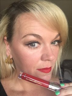 Enduring  Lip color wins again! This color is Cherry Pie and I think it is a perfect red! Long lasting and it does not dry out my lips! ❤️❤️