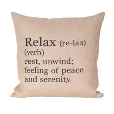 Relax Jute Pillow - Pillows - Bed