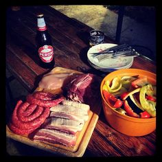 #day 5 #evening #food #meat #vegetables #grill #grigliata #dead #theend