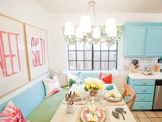 Eclectic Kitchens from Casey Noble on HGTV