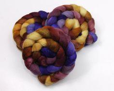 BFL Wool Roving Hand Painted Felting or by woolgatherings on Etsy. $17.00, via Etsy.