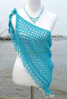 Reggae Dreams Wrap Crochet Pattern by Pattern-Paradise.com ༺✿ƬⱤღ https://www.pinterest.com/teretegui/✿༻