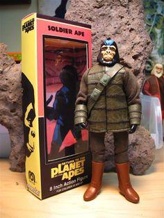 Sandy Collora's Custom Apes Mego Figures