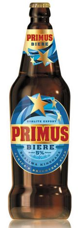 Primus is Rwanda's biggest beer brand and is positioned as the national beer of Rwanda. It was the first beer produced when the Gisenyi Brewery commenced its operations back in 1959 and can be seen as the heart of the Rwandan beer market. It has strong sponsorships in national football and music. Primus is a regional brand of the Heineken Group that is also produced in Burundi, Democratic Republic of Congo (DRC), and Congo-Brazzaville. Primus is bottled in 72cl , 50 cl and 33cl bottles; Beers Of The World, Beer Label, Best Beer, Craft Beer, Brewery, Beer Bottles, Canning, Drinks, Heineken