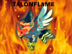 Talonflame by ZoruaDrawings.deviantart.com on @deviantART