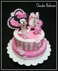 minnie mouse cake valentina - claudia behrens by Claudia Behrens ~ Cakes, via Flickr