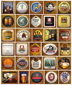 Huge collection of beer mats
