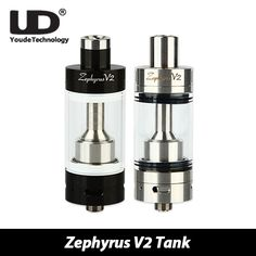 >> Click to Buy << Original UD Zephyrus V2 Tank 6ml Top Filling Atomizer Airflow Adjustable Zephyrus V2 with RBA Head and 0.3ohm Coil E-cig Tank #Affiliate