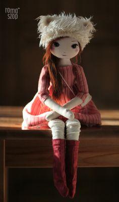 Iga – roma kozacka, handmade doll by romaszop
