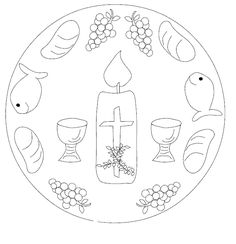 Parroquia La Inmaculada: Mandalas para Cuaresma y Semana Santa