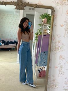 Cute Girl Outfits, Indie Outfits, Teen Fashion Outfits, Retro Outfits, Girly Outfits, Cute Casual Outfits, Simple Outfits, Look Fashion, Women's Fashion