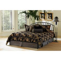 Old Town King Bed, Black