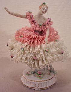 Dresden Porcelain, Fine Porcelain, Porcelain Ceramics, Porcelain Tile, Ballerina Figurines, Ballerina Doll, Dresden Dolls, Dresden China, Indian Dolls