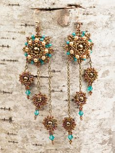 Starstruck Earrings by Kelly Wiese 5 Jewelry Trends to Spice Up Your Spring Wardrobe - Interweave
