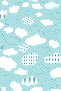 Say hello to blue skies! Vintage Flowers Wallpaper, Cute Patterns Wallpaper, Flower Wallpaper, Teen Wallpaper, Iphone 5s Wallpaper, Computer Wallpaper, Fabric Patterns, Print Patterns, Scrapbook Paper