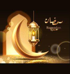 Eid mubarak greeting or ramadan kareem card Vector Image Eid Mubarak Greeting Cards, Eid Mubarak Greetings, Adha Mubarak, Ramadan Mubarak, Muslim Months, Muslim Greeting, Islamic Celebrations, Luxury Brochure, Mubarak Images