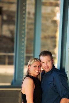 At The Banks in downtown Cincinnati. #wedding #engagement #weddingstyle
