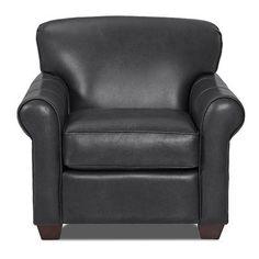 Wayfair Custom Upholstery Jennifer Leather Arm Chair Color: