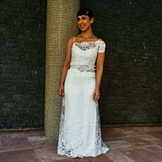 Linda Viviane Veloso! Atelier Carla Gaspar wedding dress <3