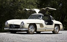 1956 Mercedes-Benz 300 SL Gullwing. Are you interested in leasing a luxury vehicle? Visit pfsllc.com for information on our leasing program. #finance #lease #auto #mercedes