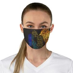 Your soul sings to mine... Daughter of Smoke and Bone Quote Face Mask – Literary Lifestyle Company