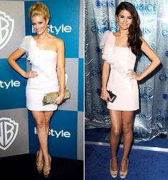 Who Wore It Best: Beth Behrs or Selena Gomez?