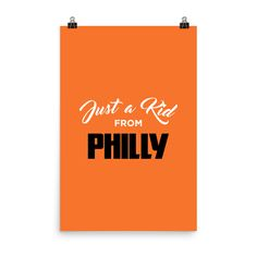 Just a Kid from Philly Poster