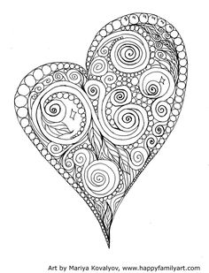 Printable Adult Coloring Pages Hearts Luxury Printable Valentine S Day Coloring Pages My Craftily Heart Coloring Pages, Cool Coloring Pages, Coloring Books, Free Coloring, Valentines Day Coloring Page, Valentines Day Holiday, Heart Sketch, Graphisches Design, Printable Adult Coloring Pages