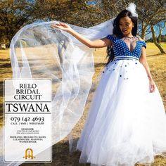 Relo Bridal #traditionalwedding #zulu #traditional #wedding Perfect Wedding Dress, Dream Wedding Dresses, Designer Wedding Dresses, African Traditional Wedding Dress, Traditional Wedding Attire, African Fashion Dresses, African Dress, Seshweshwe Dresses, Party Dresses