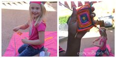 Crafty Texas Girls: Camping 'Glamping' Party