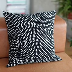 Batik cushion cover- Rain is inpired by Africas tropical rain storms. Our cushion cover is lovingly handcrafted by women in Swaziland.