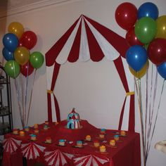 Carnival Party decor made by me!