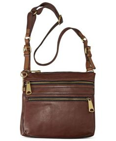 Fossil Explorer Leather Crossbody