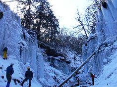 くろたろうのつれづれ日記 南牧村湯川渓谷の氷柱群