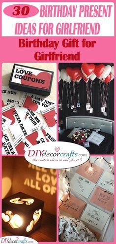 32 Birthday Present Ideas For Girlfriend Birthday Gifts Birthday Gifts For Girlfriend Girlfriend Gifts