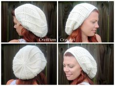 free crochet pattern super soft slouch