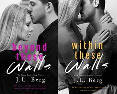 Românticos e Eróticos  Book: J.L. Berg - The Walls Duet #1 e #2