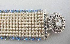 Details bracelet (diagonal raw) www.thatbeadlady.com