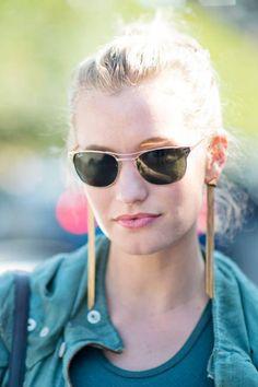 Zanita Morgan  Sunglasses: Ray-Ban