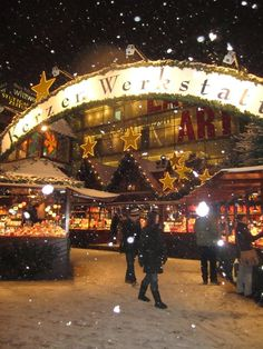The largest Christmas market in Germany - Stuttgart, Germany.  My first Christmas Market in Europe and my favorite!  Great memories!