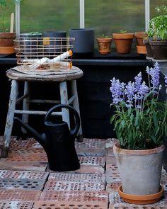Garden ideas from the blog Pieni musta mökki