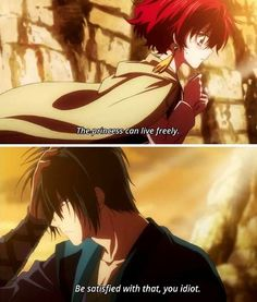 Yona and Hak ~Don't be consumed with all that desire Hak!! ;) actually no, be consumed so we can se some action