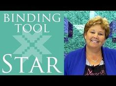 The Binding Tool Star Quilt: Easy Quilting Tutorial with Jenny Doan of Missouri Star Quilt Co - YouTube