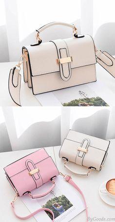 00fc0913d56a Fashion Ladies H Button Simple Women Shoulder Bag for big sale!  bag   handbag