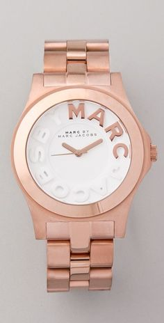 Marc by Marc Jacobs : metal rivera logo watch....Yes, I'd love one! Thanks for asking! :)
